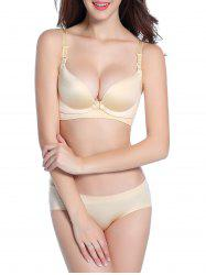 Nursing Seamless Maternity Bra - SKIN COLOR
