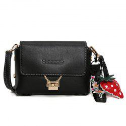Metal Embellished Hangings Crossbody Bag -