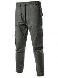 Multi Pockets Nine Minutes of Cargo Pants
