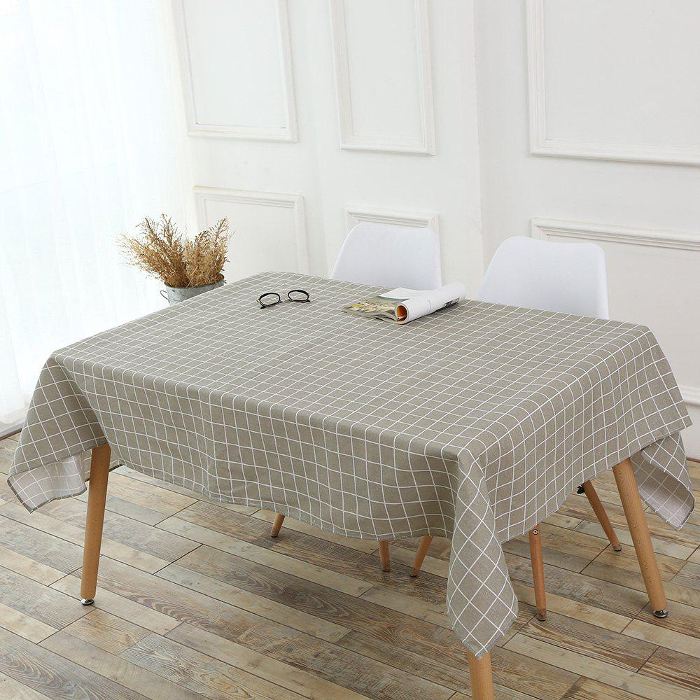 Hot Grids Patterned Kitchen Decor Table Cloth