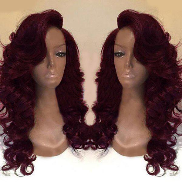 Shops Deep Side Part Long Body Wave Synthetic Wig