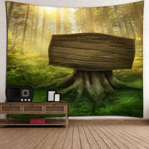 Tapisserie à la chambre Sunshine Forest Wall Hanging -