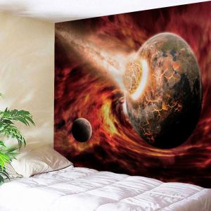 Comet Collide The Earth Print Tapestry Wall Hanging Art Decoration