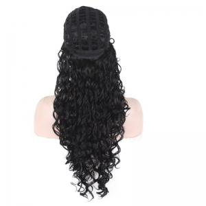 Long Fluffy Afro Little Curly Synthetic Wig -