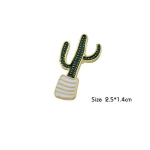 Cactus Tiny Cute Brooch -