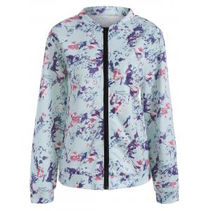 Floral Long Sleeve Jacket