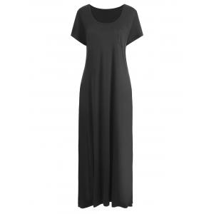 Pocket Plus Size Maxi Dress