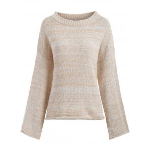 Boyfriend Drop Shoulder Loose Sweater