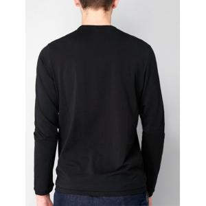 Pocket Stretchy Long Sleeve T-shirt -