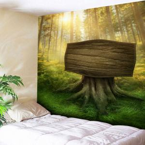 Bedroom Tapestry Sunshine Forest Wall Hanging