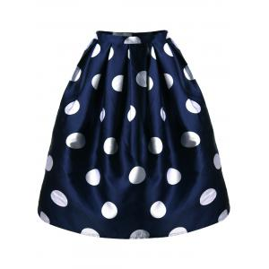 Mini Polka Dot A Line Skirt
