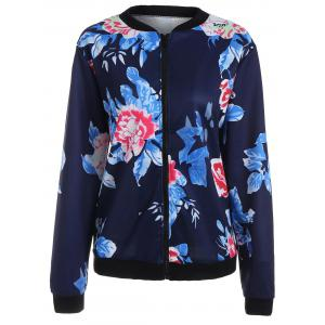 Long Sleeve Floral Jacket