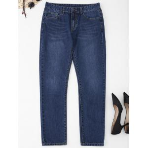 Five Pockets Plus Size Jeans