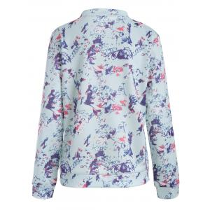 Floral Long Sleeve Jacket -