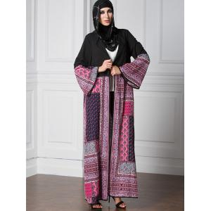 Tribal Open Front Longline Cardigan -