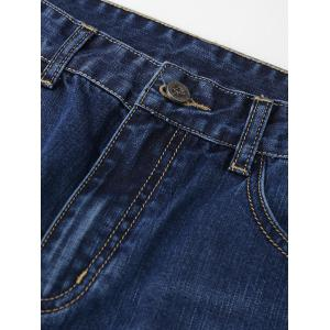 Five Pockets Plus Size Jeans -