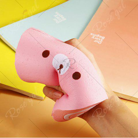 Shop Soft Stress Relief Cake Roll Squishy Toy - PINK  Mobile