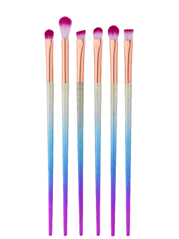 Outfits 6Pcs Tapered Eye Makeup Brushes Set - MULTI  Mobile