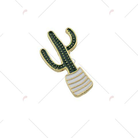 Outfits Cactus Tiny Cute Brooch - GREEN  Mobile