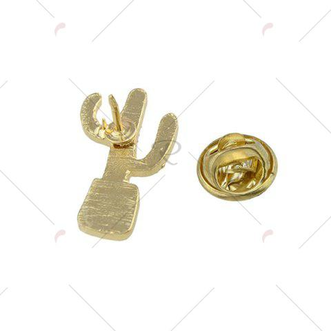 Store Cactus Tiny Cute Brooch - GREEN  Mobile