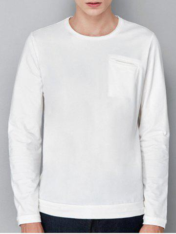Store Pocket Stretchy Long Sleeve T-shirt