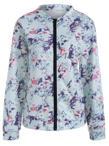 New Floral Long Sleeve Jacket
