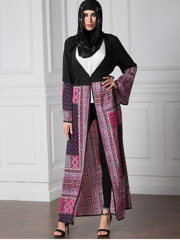Outfits Tribal Open Front Longline Cardigan