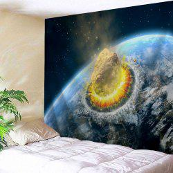 Meteorite Collide The Earth Print Tapestry Wall Hanging Art Decoration