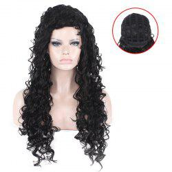 Long Fluffy Afro Little Curly Synthetic Wig