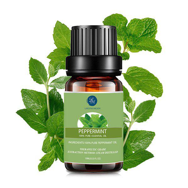 10ml Premium Therapeutic Peppermint Aromatherapy Essential OilBEAUTY<br><br>Color: GREEN; Net weight(g/ml): 10ml*1; Item Type: Pure Essential Oil; Product weight: 0.0490 kg; Package weight: 0.0690 kg; Product size (L x W x H): 1.00 x 1.00 x 1.00 cm / 0.39 x 0.39 x 0.39 inches; Package size (L x W x H): 1.00 x 1.00 x 1.00 cm / 0.39 x 0.39 x 0.39 inches; Package Content: 1 x Essential Oil;