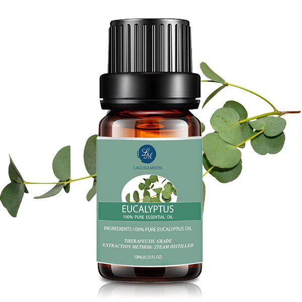 10ml Eucalyptus Premium Therapeutic Aromatherapy Essential OilBEAUTY<br><br>Color: GREEN; Net weight(g/ml): 10ml*1; Item Type: Pure Essential Oil; Product weight: 0.0490 kg; Package weight: 0.0690 kg; Product size (L x W x H): 1.00 x 1.00 x 1.00 cm / 0.39 x 0.39 x 0.39 inches; Package size (L x W x H): 1.00 x 1.00 x 1.00 cm / 0.39 x 0.39 x 0.39 inches; Package Content: 1 x Essential Oil;