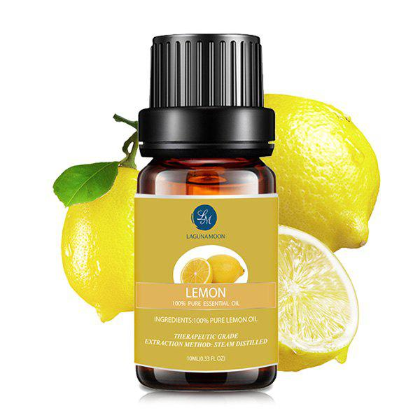 10ml Natural Lemon Aromatherapy Essential OilBEAUTY<br><br>Color: YELLOW; Net weight(g/ml): 10ml*1; Item Type: Pure Essential Oil; Product weight: 0.0490 kg; Package weight: 0.0690 kg; Product size (L x W x H): 1.00 x 1.00 x 1.00 cm / 0.39 x 0.39 x 0.39 inches; Package size (L x W x H): 1.00 x 1.00 x 1.00 cm / 0.39 x 0.39 x 0.39 inches; Package Content: 1 x Essential Oil;