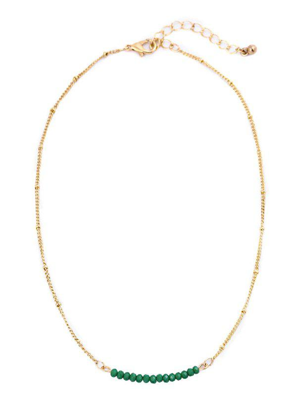 Cheap Beaded Collarbone Chain Necklace