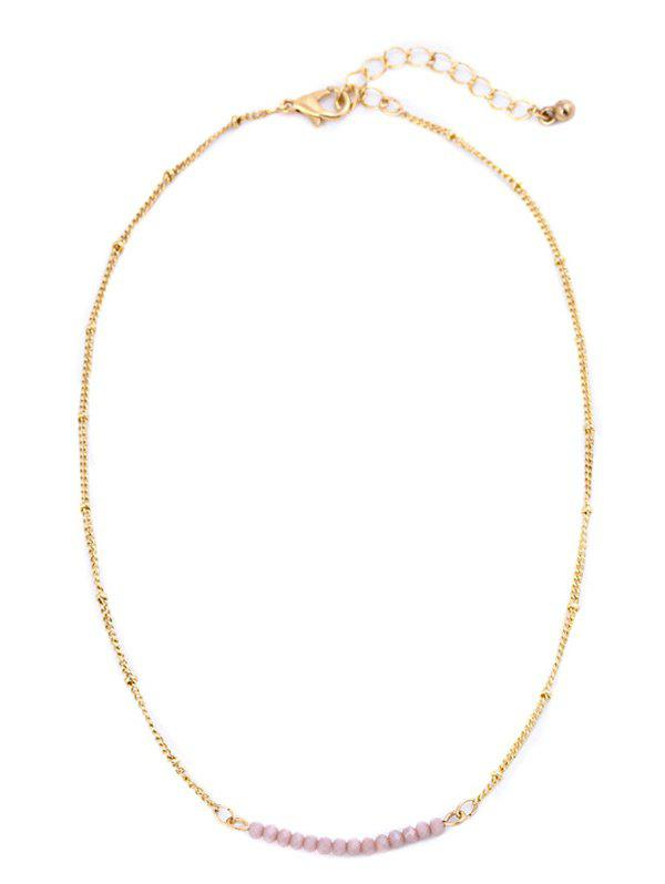 Fashion Beaded Collarbone Chain Necklace