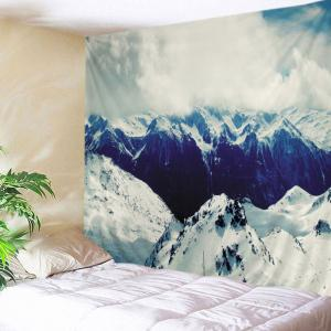 Snow Mountains Print Tapestry Wall Hanging Art Decoration