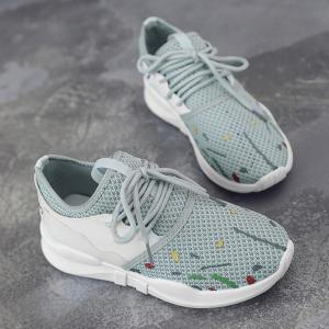 Graffitti Breathable Mesh Sneakers -
