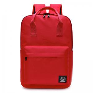 Double Pocket Top Handle Backpack