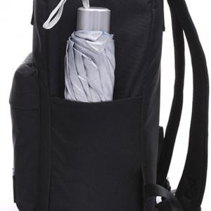 Double Pocket Top Handle Backpack - AZURE