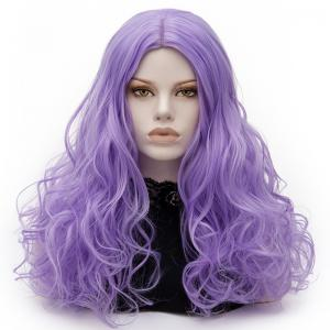 Long Middle Part Fluffy Layered Wavy Lolita Cosplay Wig