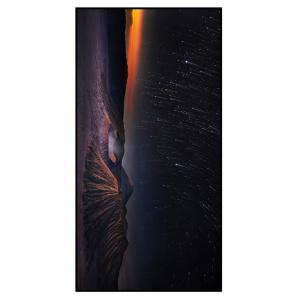 Soft Fabric Meteor Shower Printed Bath Towel
