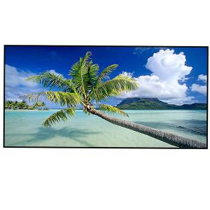 Polyester Soft Coconut Tree Print Bath Towel - BLUE W15.5 INCH * L67 INCH