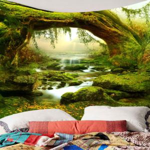 Forest Streams Print Wall Art Tapestry -