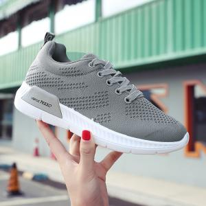 Hollow Out Breathable Mesh Sneakers -