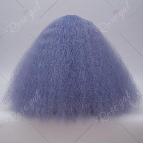 Chic Long Side Bang Fluffy Curly Wave Lolita Cosplay Wig - CLOUDY  Mobile