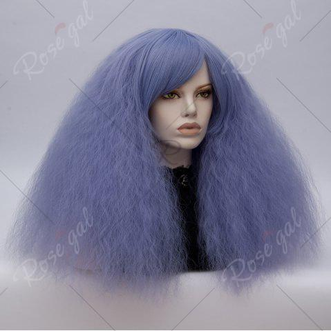 Shop Long Side Bang Fluffy Curly Wave Lolita Cosplay Wig - CLOUDY  Mobile