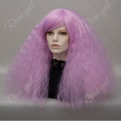 Fancy Long Side Bang Fluffy Curly Wave Lolita Cosplay Wig - JUBILEE  Mobile