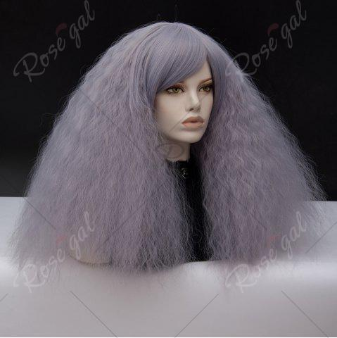 Chic Long Side Bang Fluffy Curly Wave Lolita Cosplay Wig - SMASHING  Mobile