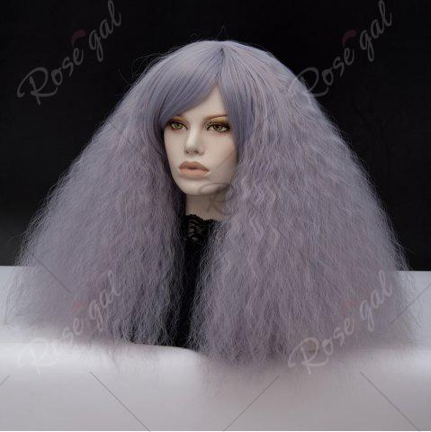 Discount Long Side Bang Fluffy Curly Wave Lolita Cosplay Wig - SMASHING  Mobile