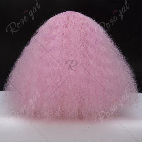 Outfit Long Side Bang Fluffy Curly Wave Lolita Cosplay Wig - PINKISH PURPLE  Mobile