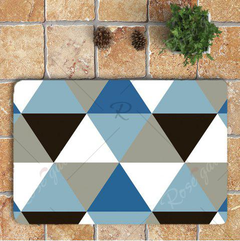 Trendy Rhombus Pattern Nonslip 3Pcs Bathroom Mats Set - COLORMIX  Mobile
